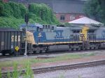 CSX C44WAC 43 at Howell Wye